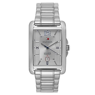 Tommy Hillfiger Men's Silver Stainless Steel Quartz Watch