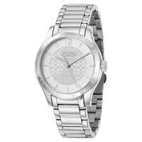 Coach Women's Silvertone Stainless Steel Watch