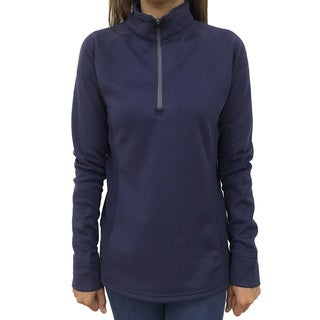 Narragansett Traders Women's Lavender Polyester Fleece 1/4-zip Lightweight Pullover