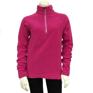 Narragansett Traders Women's Pink Fleece 1/ 4-zip Pullover