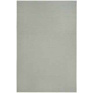 Safavieh Courtyard Tonal Aqua/ Cream Indoor/ Outdoor Rug - 3' x 5'