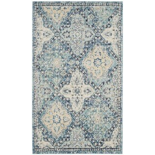 Safavieh Evoke Vintage Light Blue / Ivory Rug (3' x 5')