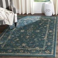 Safavieh Evoke Vintage Oriental Turquoise/ Beige Distressed Rug - 3' x 5'