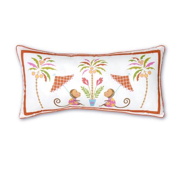 Shop Haute Girls Safari Monkey Decorative Pillow Ships To Canada Beauteous Safari Decorative Pillows