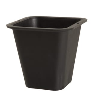 Link to Flower Planter Pot with Sturdy Lip For Transport- 8.25 Quart Plastic by Pure Garden - 6 x 6 Similar Items in Outdoor Decor