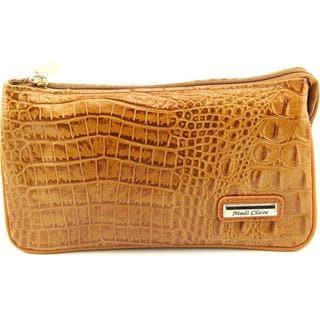 Madi Claire Women's 4973 Tan Leather Handbag