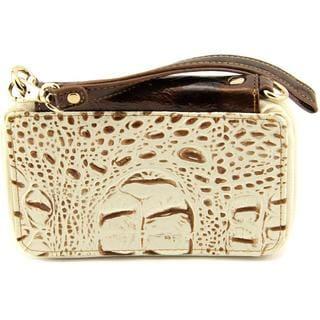 Madi Claire Women's 2603 White Leather Handbag