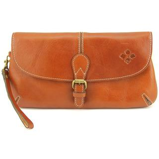 Patricia Nash Women's Tan Leather Baku Wristlet Handbag