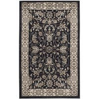 Safavieh Lyndhurst Traditional Oriental Anthracite/ Cream Rug - 3' x 5'