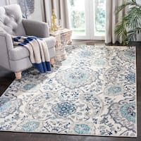 Safavieh Madison Bohemian Cream/ Light Grey Rug - 4' x 6'