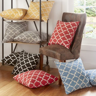INSPIRE Q Montvale 20-inch Moroccan Pattern Toss Accent Pillow (Set of 2)