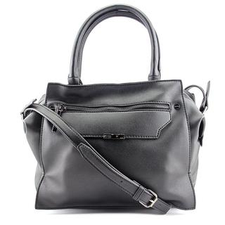 Danielle Nicole Women's Kayden Black Faux Leather Satchel