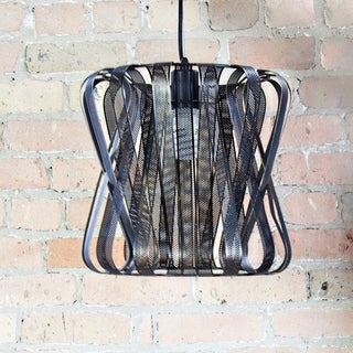East Village Industrial Metal 56-inch Hanging Lamp
