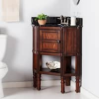 Harper Blvd Bauer Marble Top Corner Bath Vanity Sink