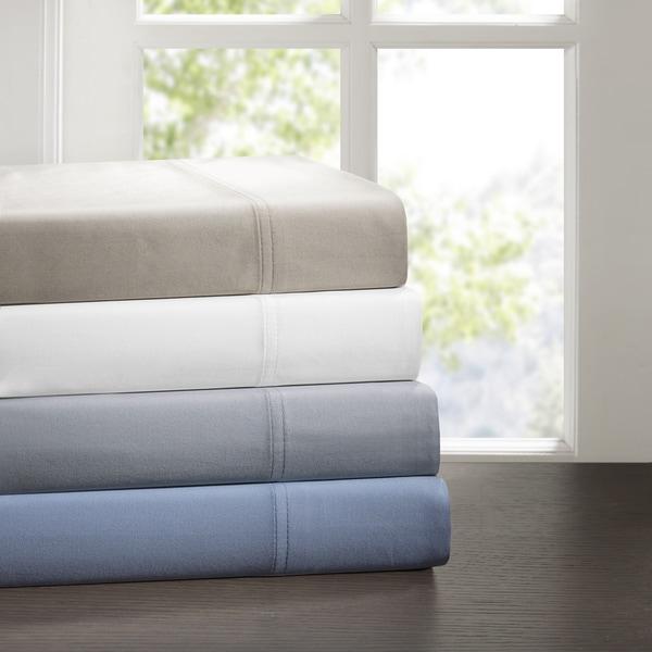 Sleep Philosophy Cotton Tencel Sheet Set 4-Color Option