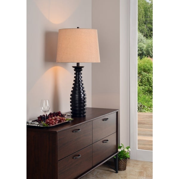 "Vertigo 30.5"" Table Lamp - Oil Rubbed Bronze"