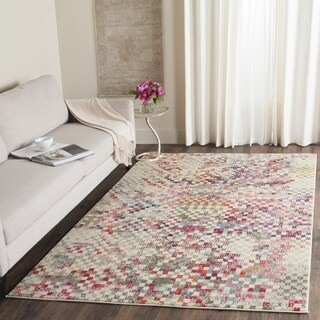 Safavieh Monaco Bohemian Grey / Multicolored Rug (3' x 5')