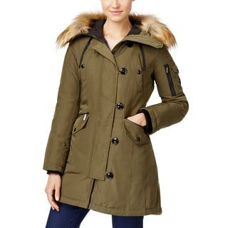 Michael Kors Olive Green Down Parka|https://ak1.ostkcdn.com/images/products/12670457/P19457079.jpg?impolicy=medium