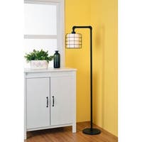 Grid Iron Floor Lamp