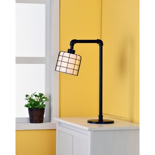 Grid Iron Table Lamp