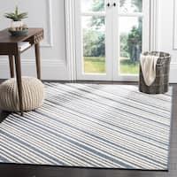 Safavieh Monroe Indoor / Outdoor Blue Rug - 3' 3 x 5' 3