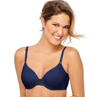 Hanes Ultimate X-Temp Back Smoother Foam Underwire Bra