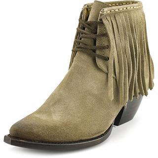 Frye Women's 'Sacha Fringe Chukka' Regular Suede Boots