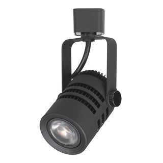Black Aluminum 3.75-inch LED Dimmable Track Light Head