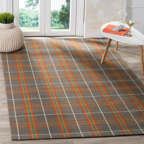 Safavieh Hand-Woven Marbella Flatweave Multicolored Wool Rug - 4' x 6'