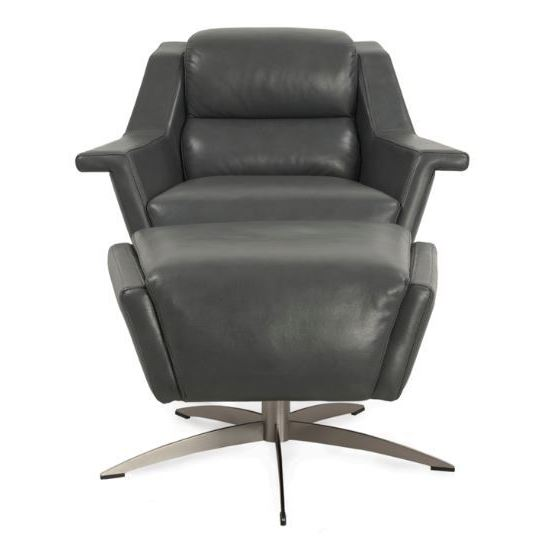 Delicieux Kaato Full Top Grain Leather Swivel Chair