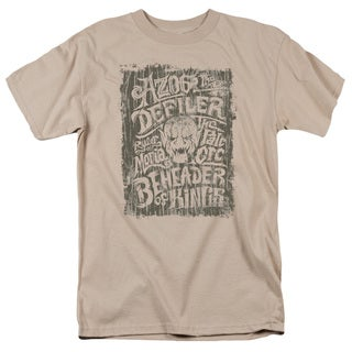Hobbit/Azog Short Sleeve Adult T-Shirt 18/1 in Sand