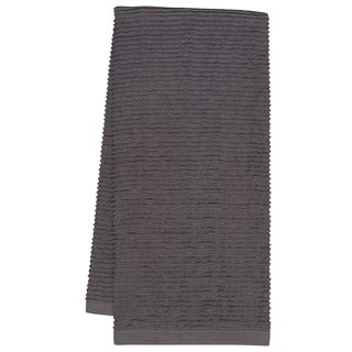 KAF Home Pewter Wave Terry Towel