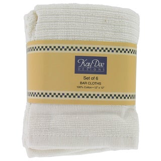 Kay Dee White Bar Cloth Towel