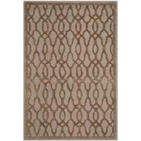 Martha Stewart by Safavieh Handmade Brown/ Bronze Wool Rug (4' x 6')