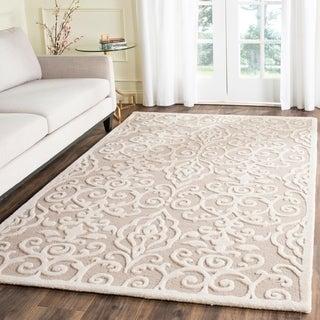 Martha Stewart by Safavieh Marais Fledgling Wool Rug (4' x 6')