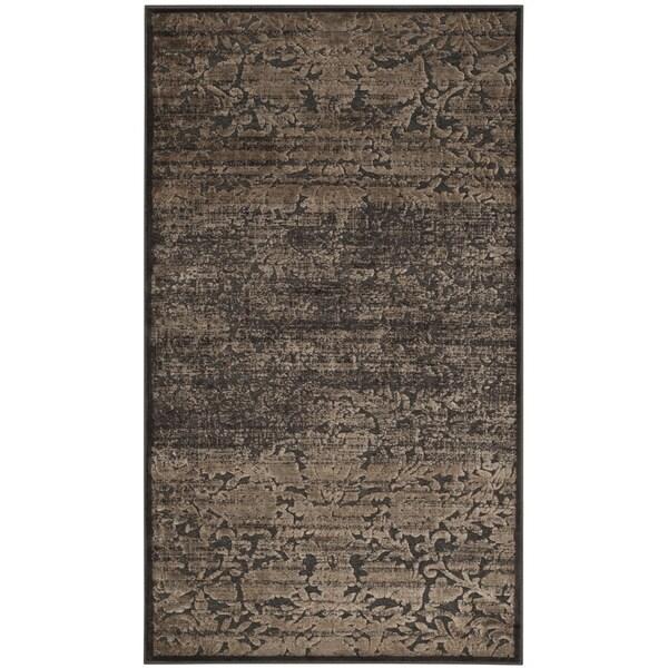 Martha Stewart by Safavieh Heritage Bloom Zinc Viscose Rug (3' 3 x 5' 7) - 3'3 x 5'7
