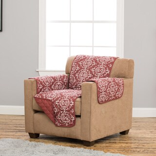 Home Fashion Designs Kingston Collection Deluxe Reversible Stain Resistant Chair Protector
