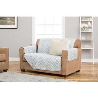 Home Fashion Designs Kingston Collection Deluxe Reversible Stain Resistant Loveseat Protector