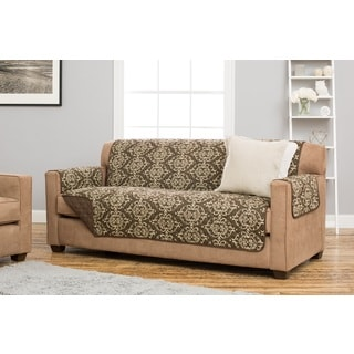 Home Fashion Designs Kingston Collection Deluxe Stain Resistant Sofa  Protector