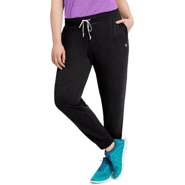 4e3df764c74356 Shop Champion Women's French Terry Plus-size Jogger Pants - Free ...