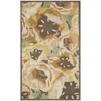 Martha Stewart by Safavieh Poppy Gold Wool Rug - 3' x 5'