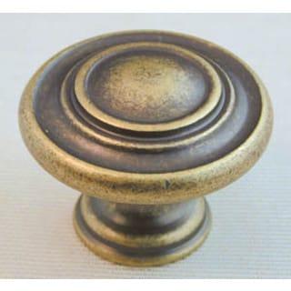 Ultra Hardware 41708 1-5/16-inch Antique Brass Trendset High Density Zinc Knob