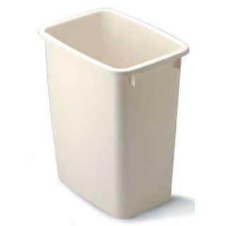 Rubbermaid FG280500BISQU 21-quart Bisque Wastebaskets
