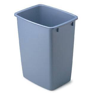 Rubbermaid 1791162 36 Qt Blue Open Wastebasket