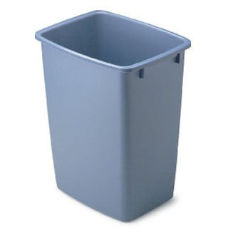 Rubbermaid 1791162 36 Qt Blue Open Wastebasket