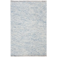 Safavieh Handmade Natura Southwestern Blue Wool / Cotton Rug - 4' x 6'