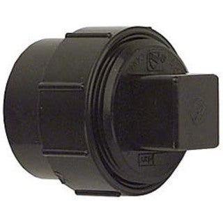 Genova Products 81615 1.5-inch ABS-DWV Fitting Clean-Outs with Threaded Plug