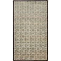 Safavieh Paradise Watercolor Vintage Cream / Brown Viscose Rug - 3' 3 x 5' 7