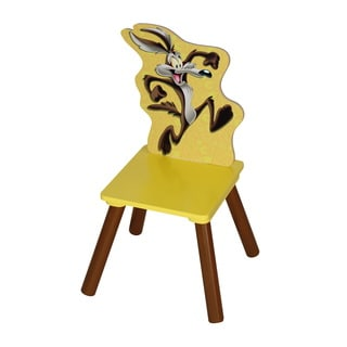 Wile E. Coyote Kids m\MDF/Rubber Chair