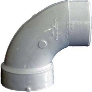Genova Products 72916 1.5-inch Sch. 40 PVC-DWV 90-degree Sanitary Elbows